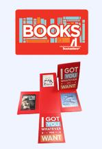 Books Gift Cards