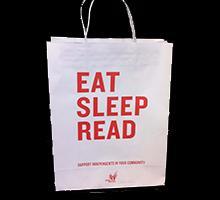 Eat Sleep Read Bag