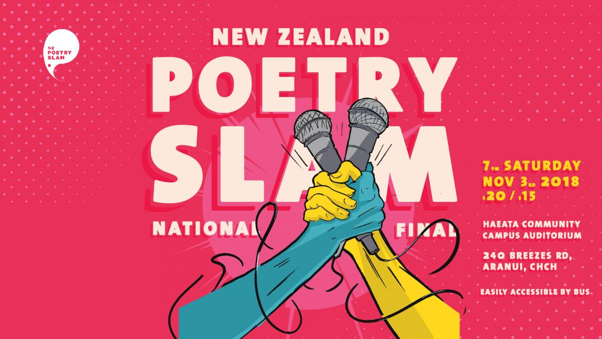 Best Poets In The Country Slam To Be Champion - Booksellers NZ